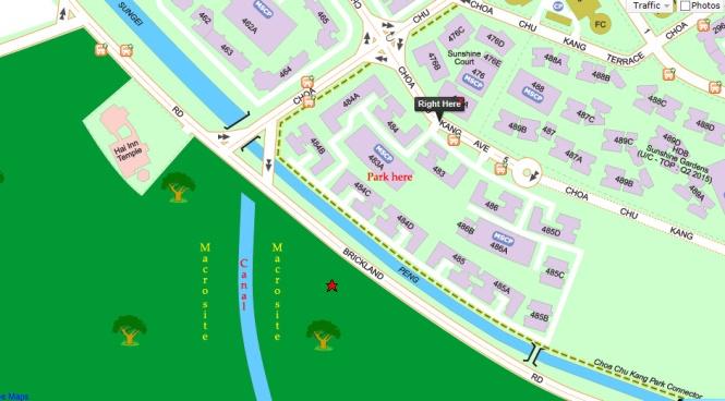 (Map of Macro Site)